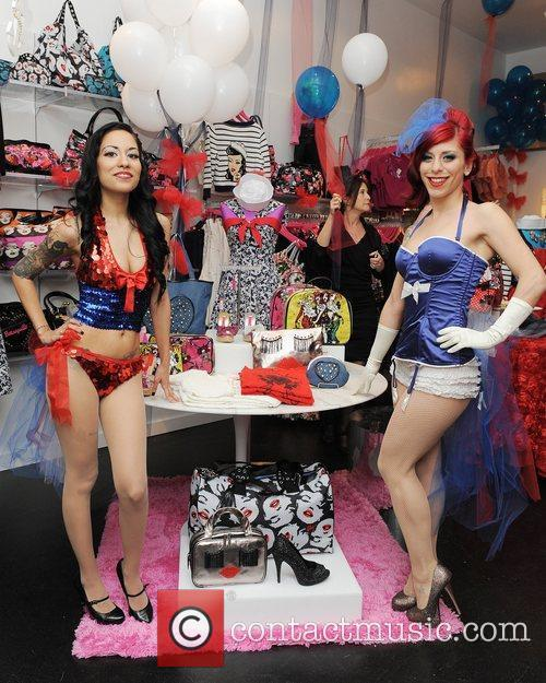 Betsey Johnson celebrates the Grand Opening of her...
