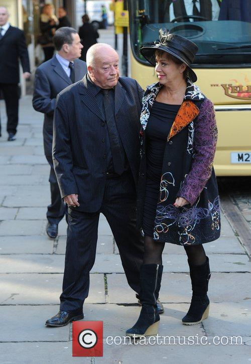 Denise Welch and husband Tim Healy  The...