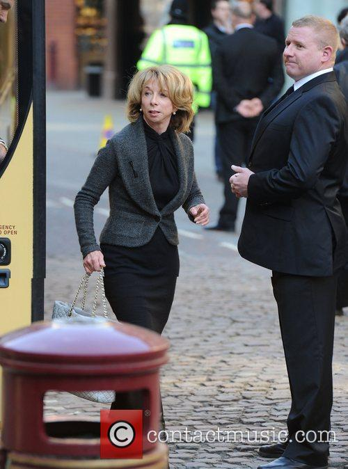 Helen Worth  The funeral of Betty Driver...