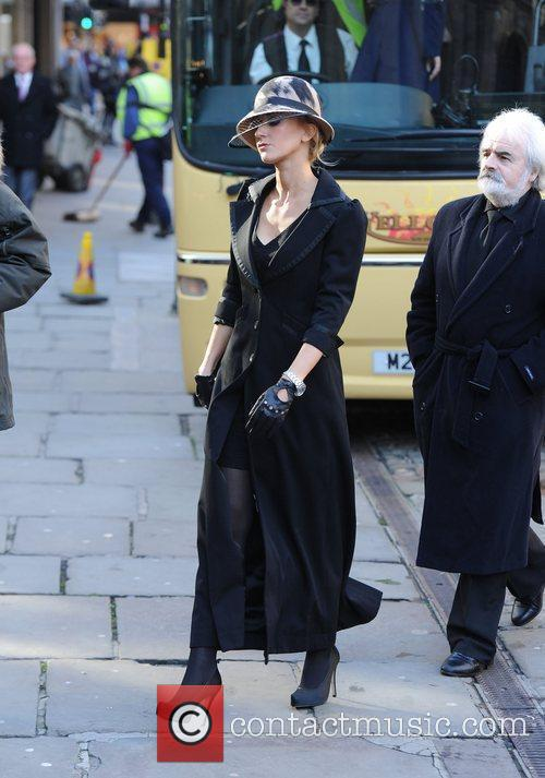 Katherine Kelly  The funeral of Betty Driver...