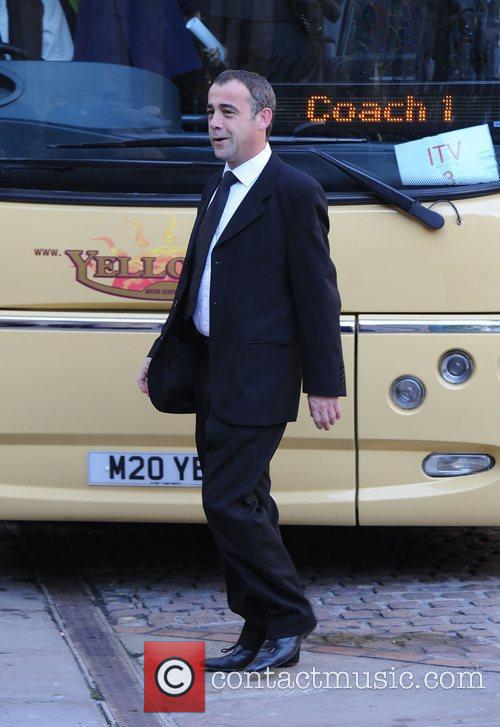 Michael Le Vell    The funeral...