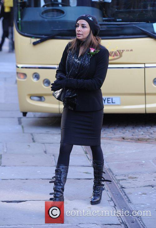 Shobna Gulati  The funeral of Betty Driver...