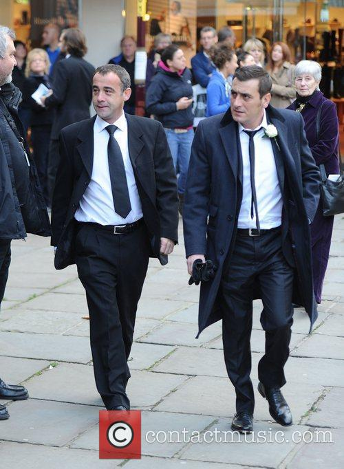 Michael Le Vell and Chris Gascoyne  The...