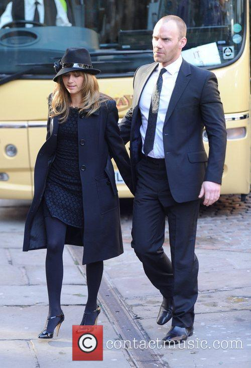 Samia Smith and Will Thorp  The funeral...