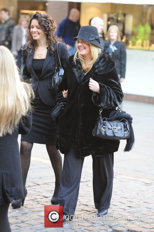 Sally Lindsay  The funeral of Betty Driver...