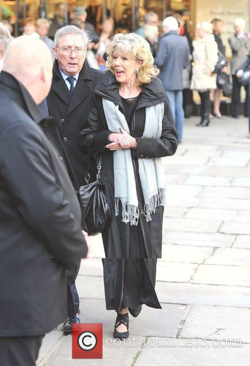 Sue Nicholls  The funeral of Betty Driver...