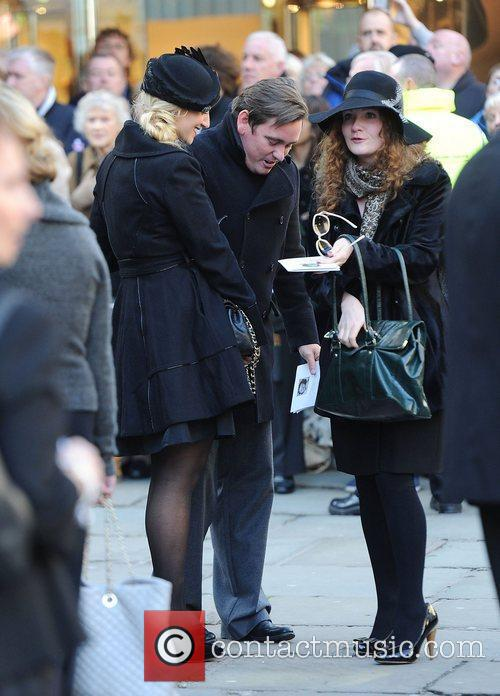 Catherine Tyldesley, Jennie McAlpine  The funeral of...