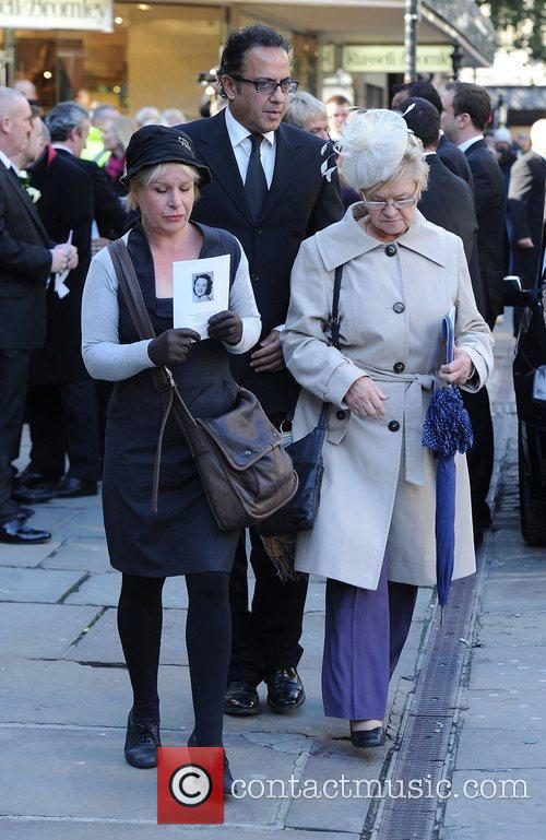 The funeral of Betty Driver held at St...