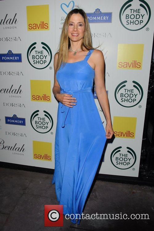 Mira Sorvino Beulah London and United Nations Reception...