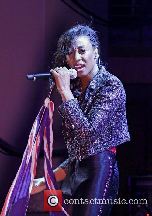 Beverley Knight performing live at the Manchester Bridgewater...