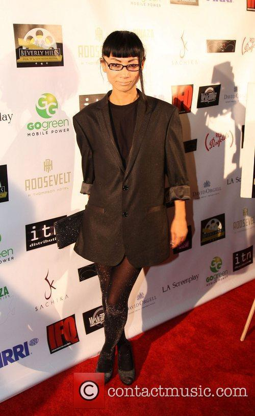 Bai ling Beverly Hills Film Festival at The...