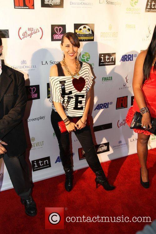Burgandi Phoenix Beverly Hills Film Festival at The...