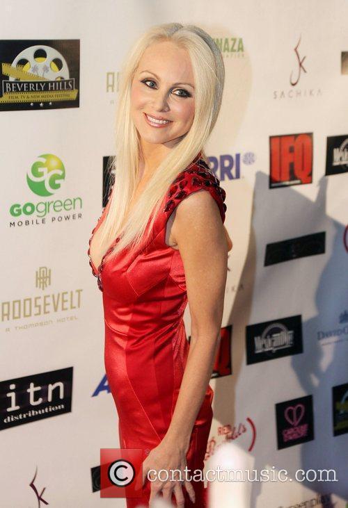 Donna Spangler  Beverly Hills Film Festival at...