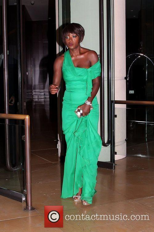 Viola Davis and Beverly Hilton Hotel 2