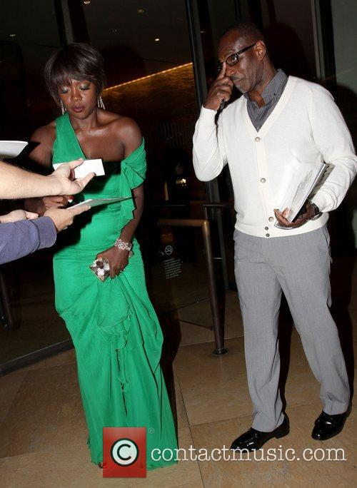 Viola Davis and Beverly Hilton Hotel 4