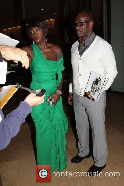Viola Davis and Beverly Hilton Hotel 1