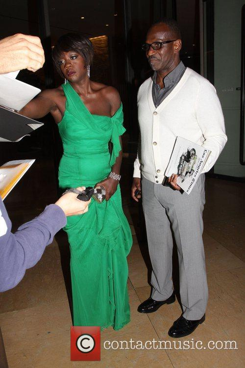 Viola Davis and Beverly Hilton Hotel 5