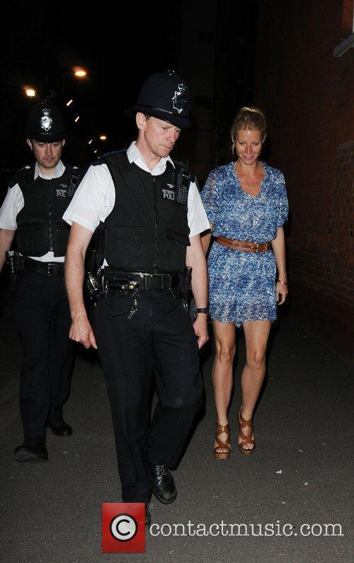 Gwyneth Paltrow Celebrities arrive at O2 Shepherds Bush...