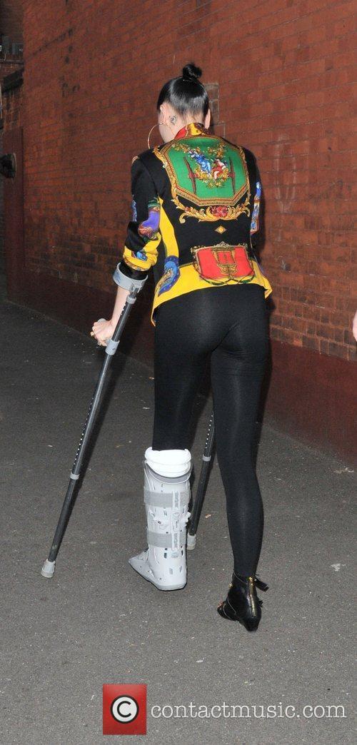 Jessie J aka Jessica Cornish Celebrities arrive at...