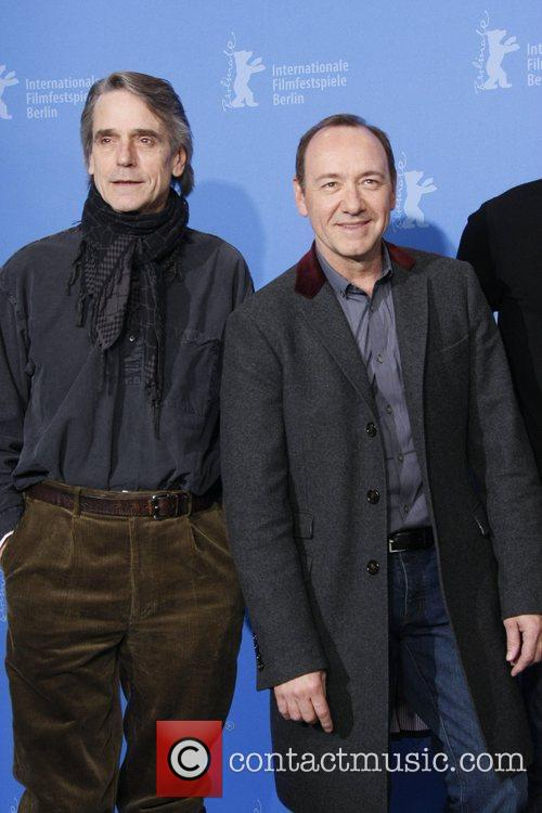 Jeremy Irons and Kevin Spacey  61st Berlin...