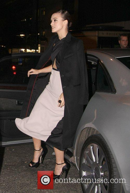 Keira Knightley and Odeon West End 4