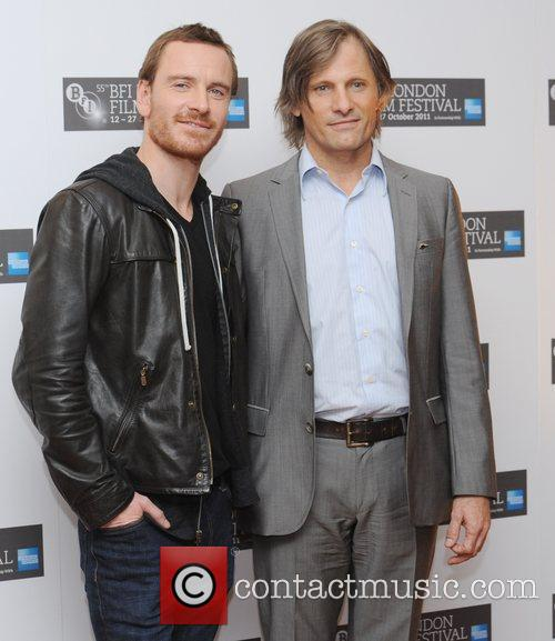 Viggo Mortensen, Michael Fassbender and Odeon West End 4
