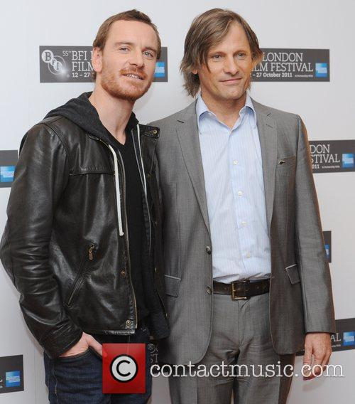 Viggo Mortensen, Michael Fassbender, Odeon West End
