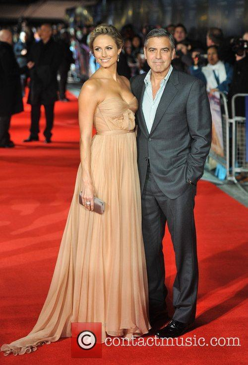 Stacy Keibler, George Clooney and Odeon Leicester Square 7