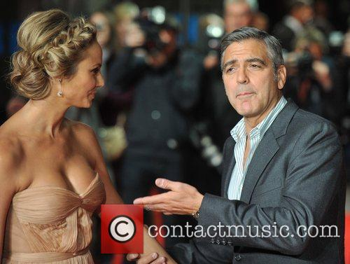 Stacy Keibler, George Clooney and Odeon Leicester Square 8