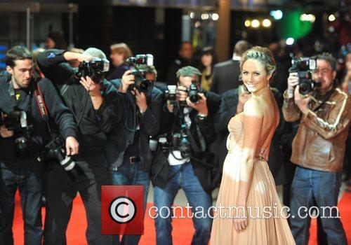 Stacy Keibler and Odeon Leicester Square 11