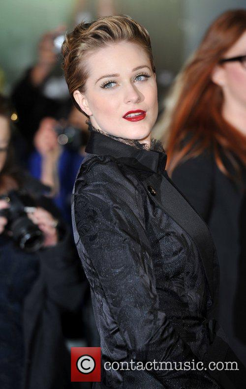 Evan Rachel Wood and Odeon Leicester Square 2