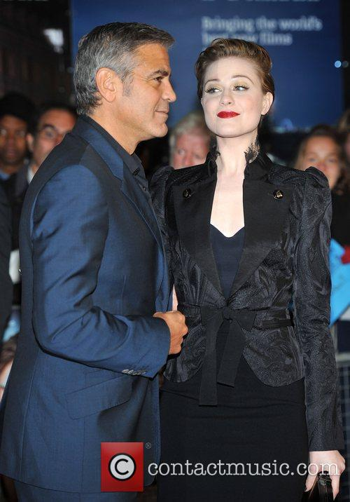 George Clooney, Evan Rachel Wood and Odeon Leicester Square 2