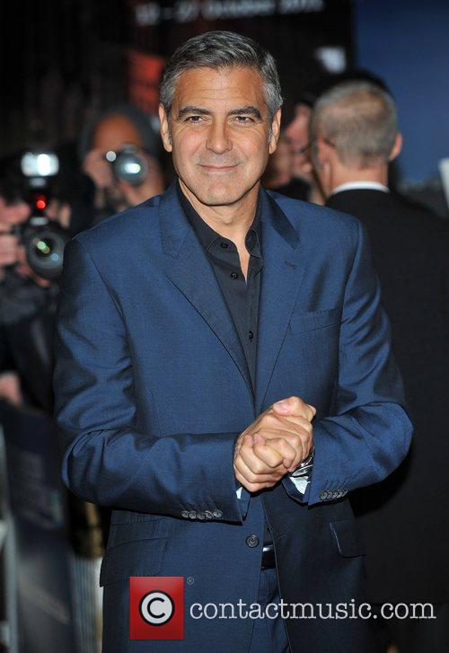 George Clooney and Odeon Leicester Square 6