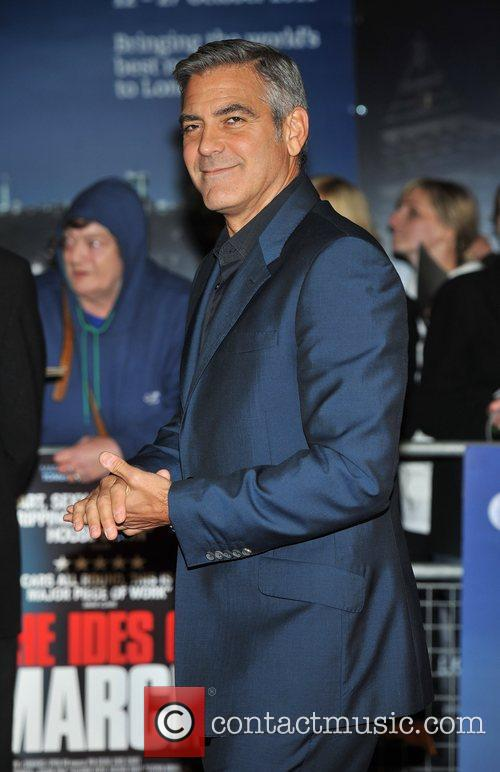 George Clooney and Odeon Leicester Square 5