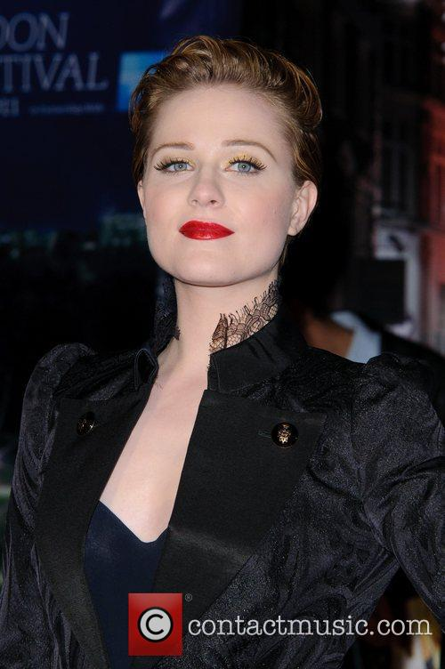 Evan Rachel Wood and Odeon Leicester Square 16