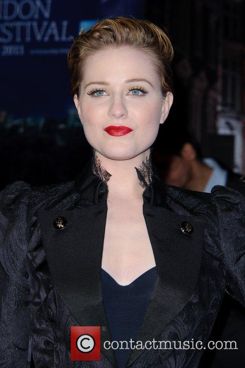 Evan Rachel Wood and Odeon Leicester Square 14