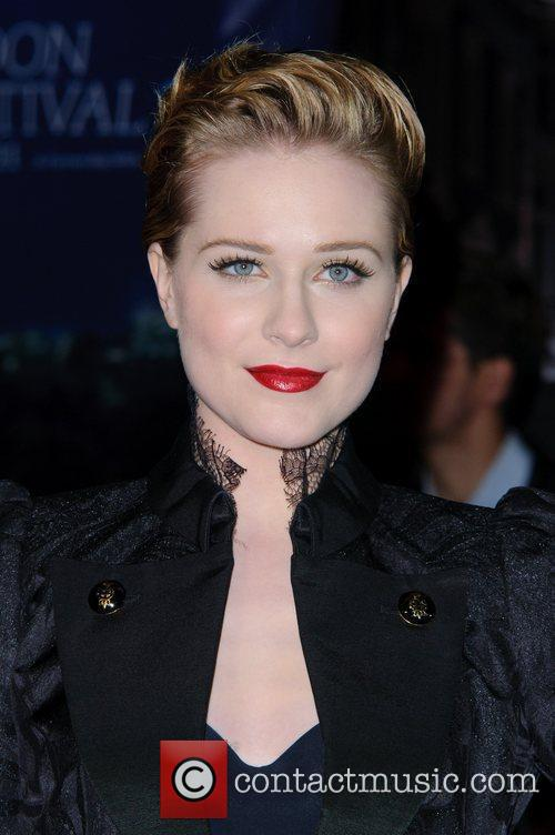 Evan Rachel Wood and Odeon Leicester Square 18