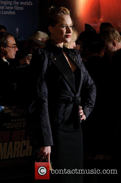 Evan Rachel Wood and Odeon Leicester Square 1