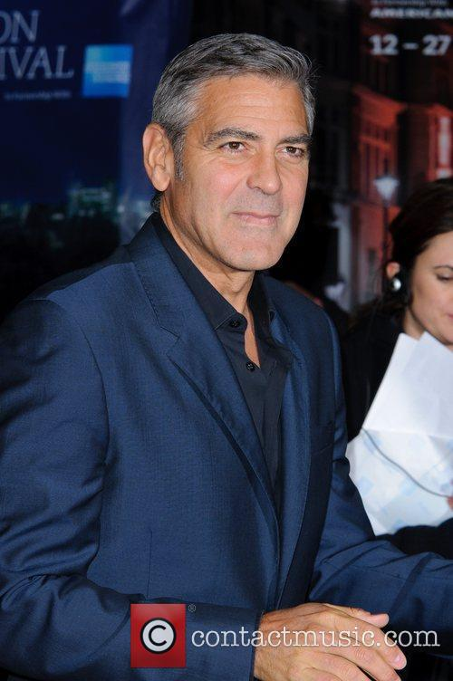 George Clooney and Odeon Leicester Square 20
