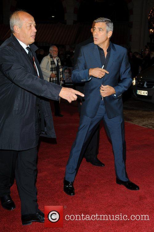 George Clooney and Odeon Leicester Square 18