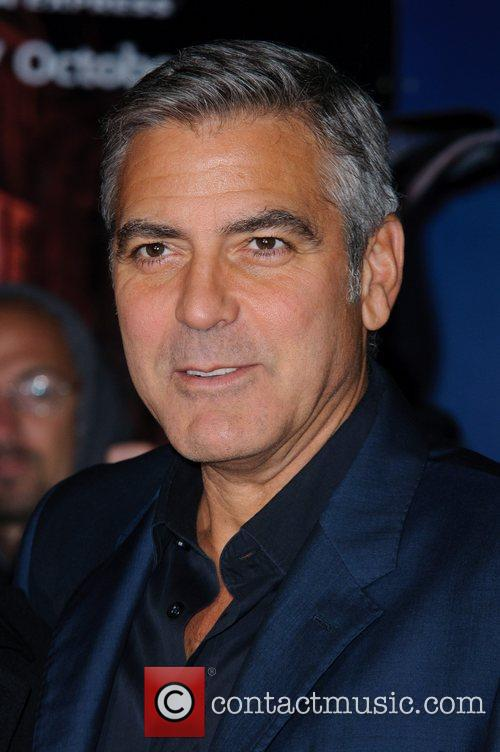 George Clooney and Odeon Leicester Square 21