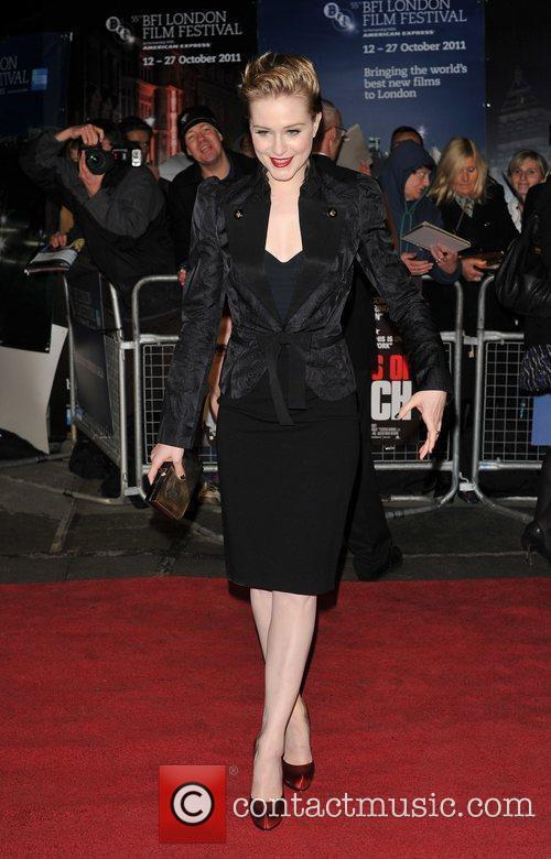 Evan Rachel Wood and Odeon Leicester Square 7