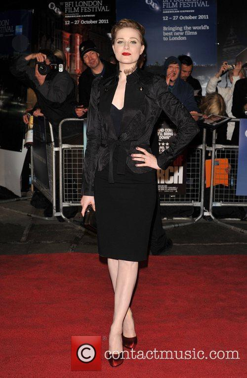 Evan Rachel Wood and Odeon Leicester Square 4