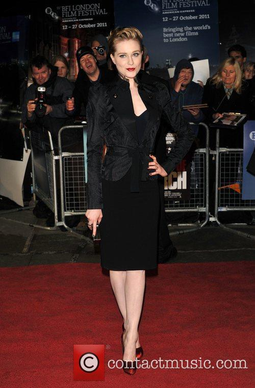 Evan Rachel Wood and Odeon Leicester Square 3