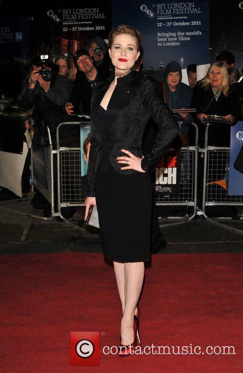 Evan Rachel Wood and Odeon Leicester Square 6