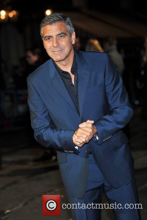 George Clooney and Odeon Leicester Square 10