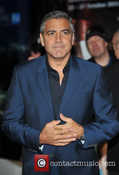 George Clooney and Odeon Leicester Square 13