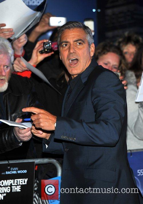 George Clooney and Odeon Leicester Square 8