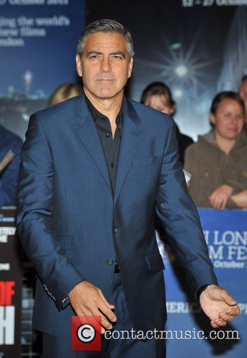 George Clooney and Odeon Leicester Square 12