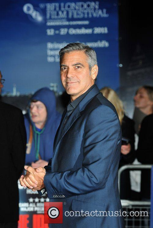 George Clooney and Odeon Leicester Square 11